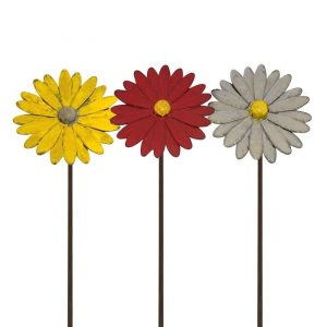 Small Painted Daisy Stake