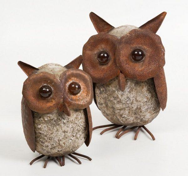 3294 SET 3 OWLS