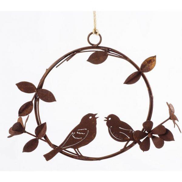 5182 Bird and Flower Wreath