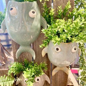 Wall Fish Pot / Planter