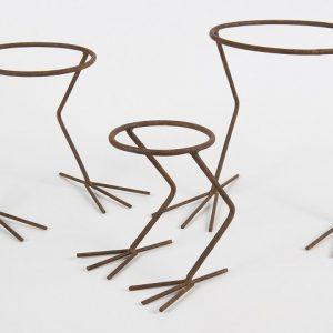 Bird Feet Pot Holder Set of 3