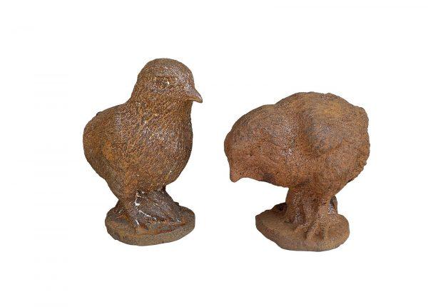 Cast Iron Chicks set of 2
