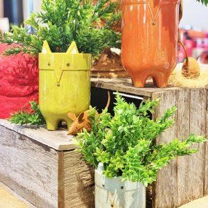 Fox Pot/Planter