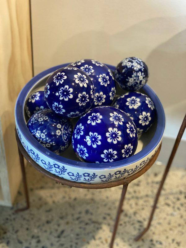 Dark blue porcelain balls 3 scaled 1