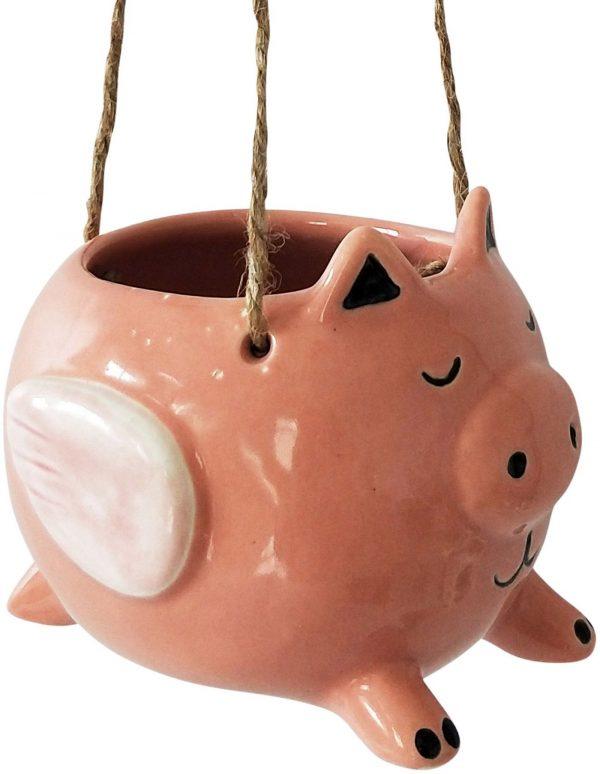 Hanging flying pig 2