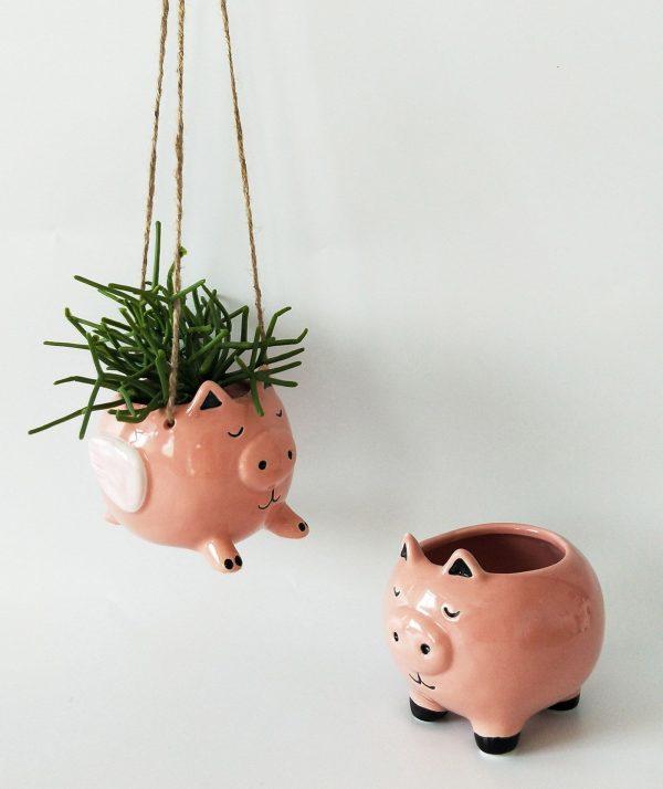 Hanging flying pig 3