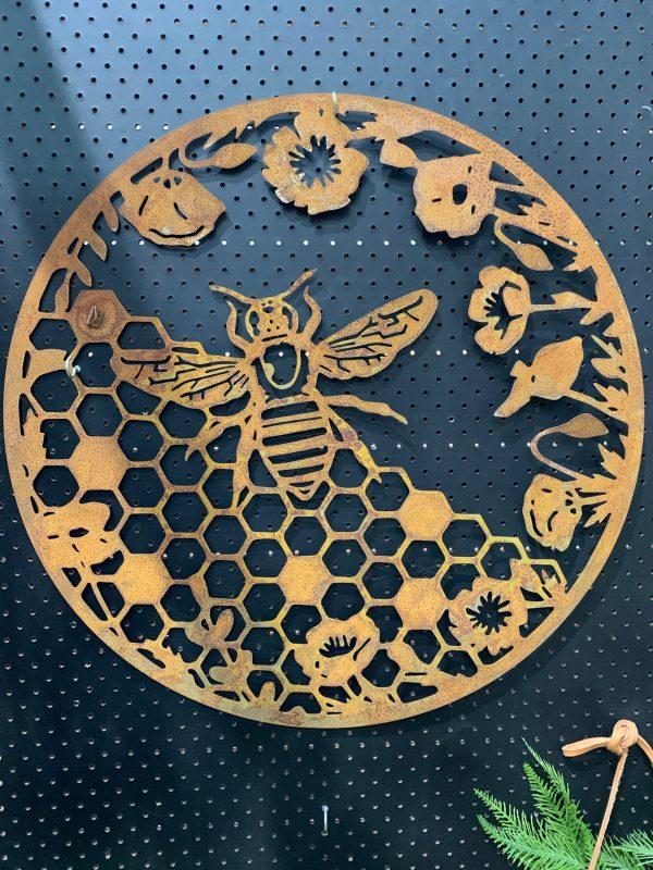Honeycomb Wall Art scaled 1