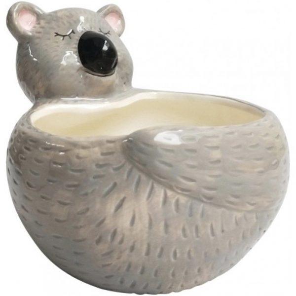 Koala Planter Grey Med 103306