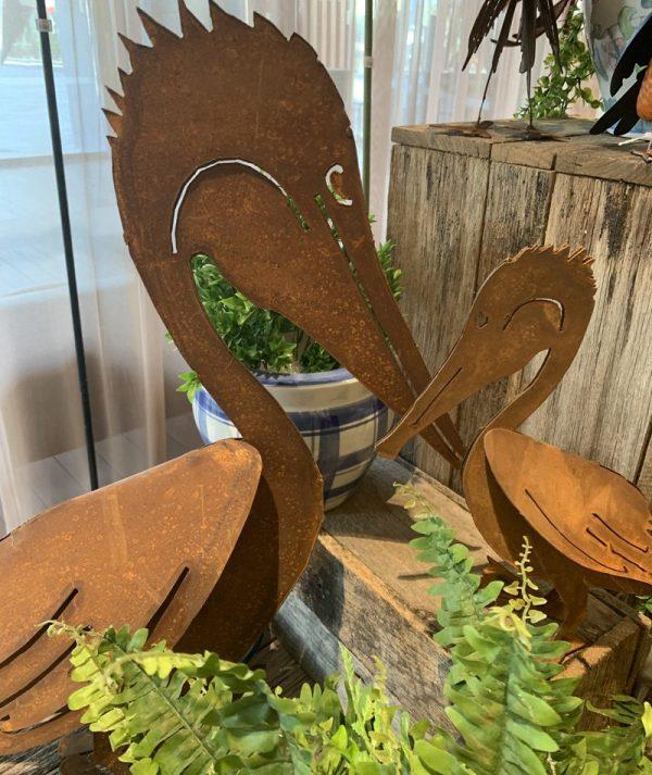 Pelicans rust 1