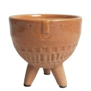 Round Face Planter with Legs