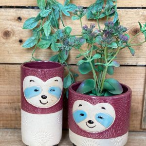 Berry Sloth Vase Planter