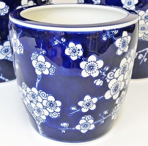 Tall Pot Dark Blue