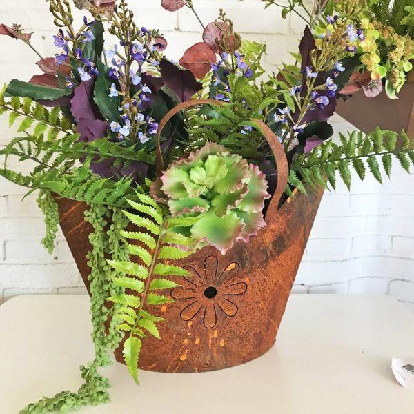 triangle handbag planter 3