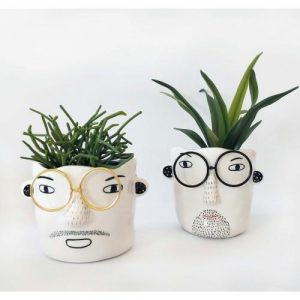 Quirky Man with Glasses
