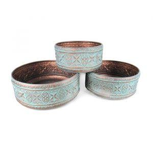Zinc Copper Bowls